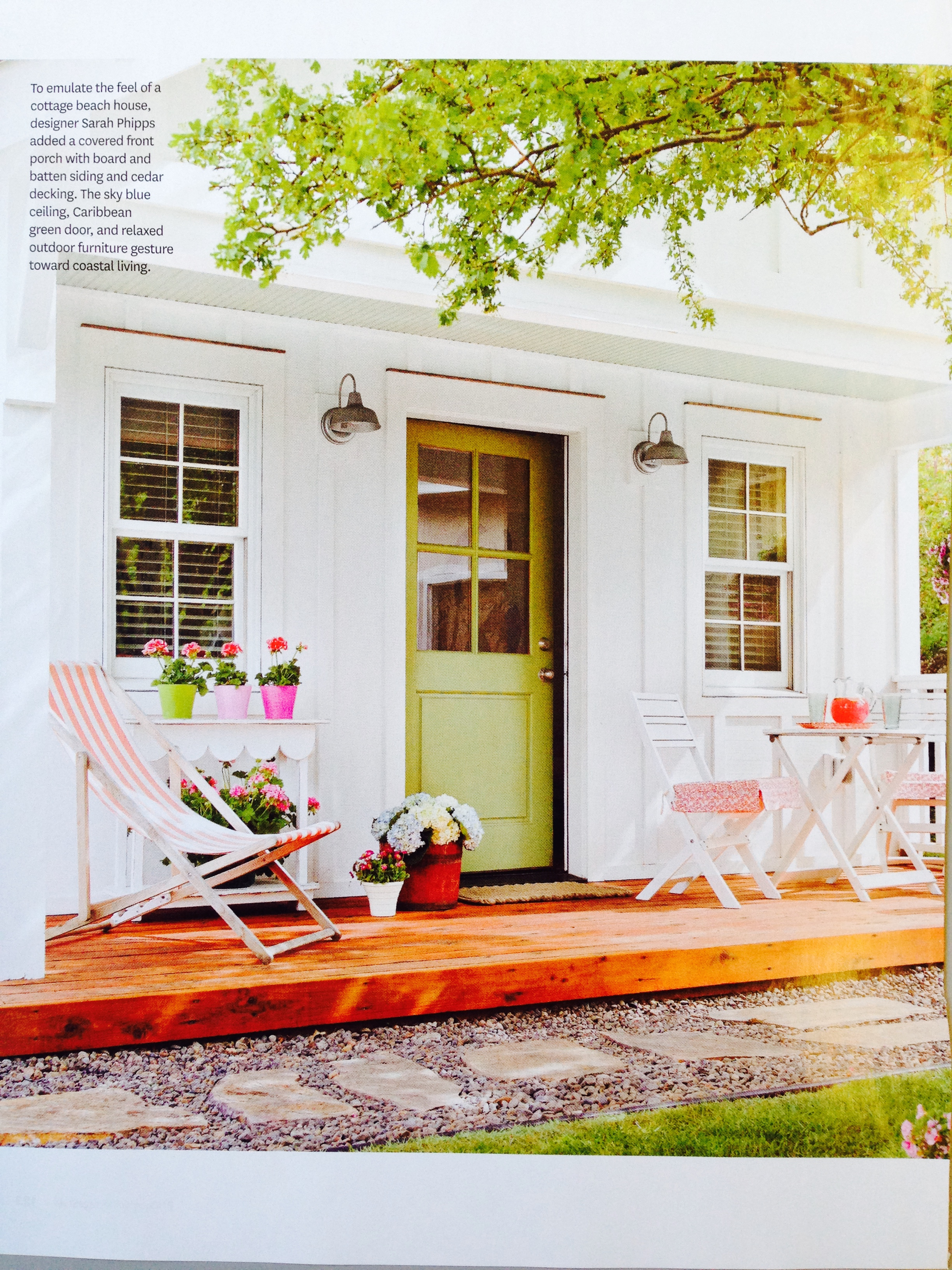 As featured in cottage style magazine fall winter 2015 for Cottage design magazine